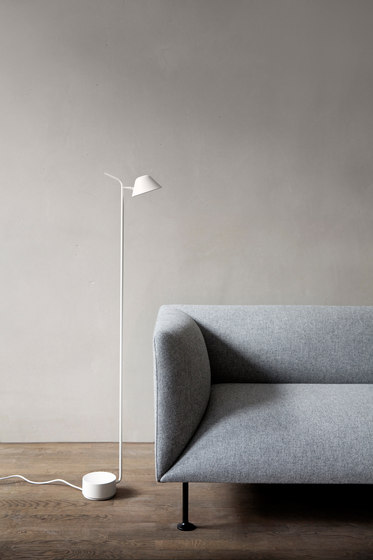 Peek Floor Lamp | White by MENU