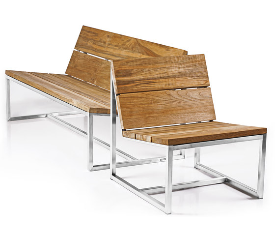 Oko casual bench 235 cm by Mamagreen