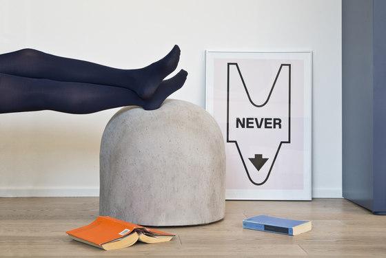 Bard footstool by Internoitaliano