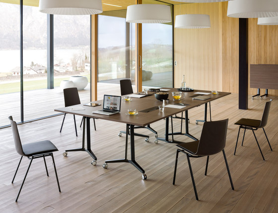 skill mobile table system contract tables from wiesner hager architonic. Black Bedroom Furniture Sets. Home Design Ideas