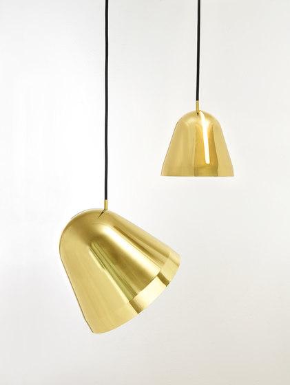 Tilt Brass Pendant Lamp by Nyta