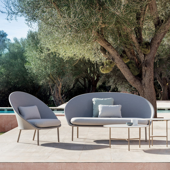 Twins Low armchair by Expormim