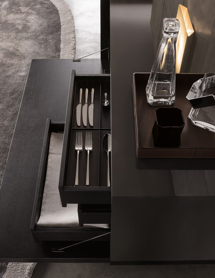 lang by minotti sideboard dining sideboard living bar. Black Bedroom Furniture Sets. Home Design Ideas