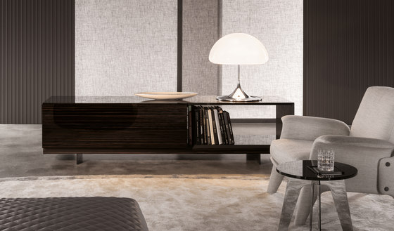 lang sideboards by minotti architonic. Black Bedroom Furniture Sets. Home Design Ideas