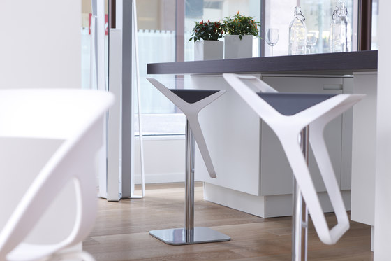 Black Modern Counter Stools