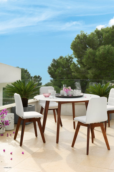 Slim Wood Collection Dining | Chair Wood de Viteo
