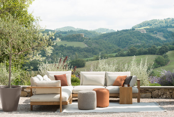 Outdoor Poufs by Tribù