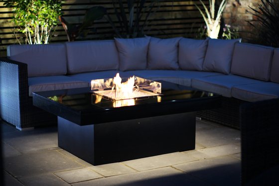 Madrid Gas Fire Table by Rivelin