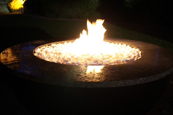 Valencia 90 Gas Fire Bowl by Rivelin