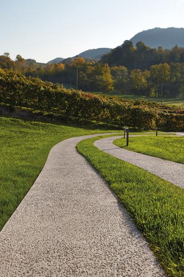 Sassoitalia Floor - Terra Toscana, Grigio, Rosso Verona di Ideal Work