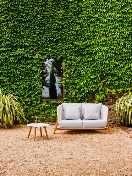 Round Club Armchair Garden Armchairs From Point Architonic