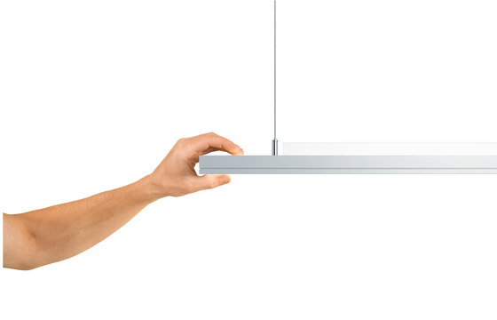 LIGHT FIELDS evolution pendant by Zumtobel Lighting