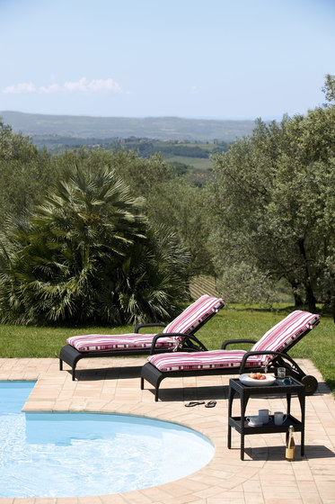 Saint Tropez deck chair di Lambert