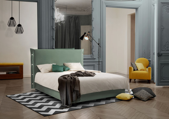 Sleeping Systems Collection Prestige | Headboard Trench by Treca Interiors Paris