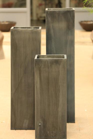 Zinc Column Pot de Domani