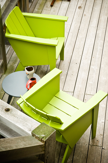 Deck Chair Side Table de Loll Designs