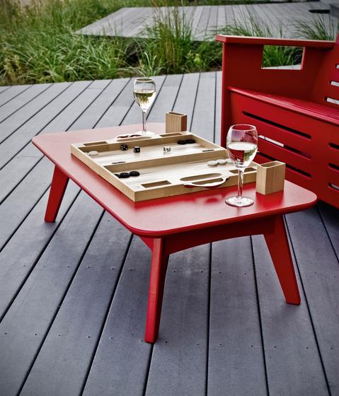 Satellite Cocktail Tables oval de Loll Designs