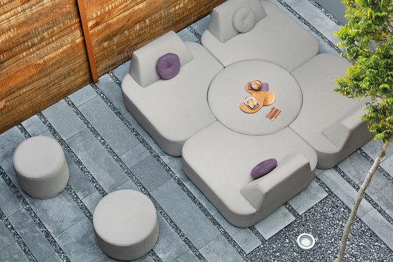 Moon Island Footstool / Sidetable 63 von Manutti