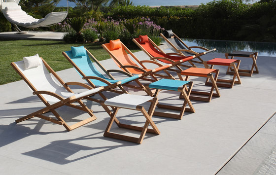 Beacher 65 folding relax chair de Royal Botania