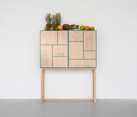No Secrets Cabinet di A2 designers AB