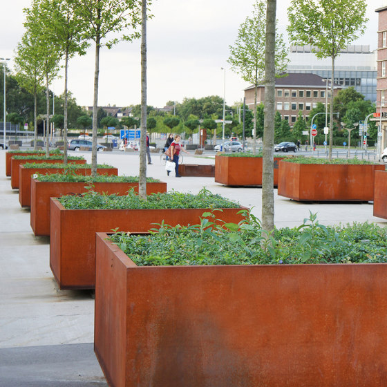 CorTen Tree Grid Matrix by Streetlife