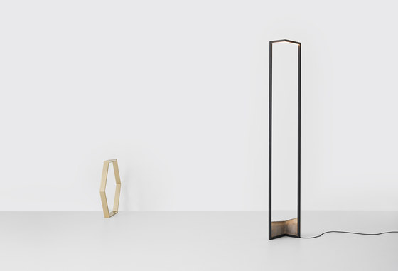 Foundry Floor Light by Resident