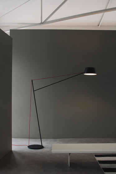 Spar Floor Light by Resident