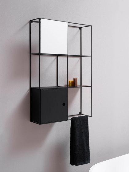 Felt wall-mounted cabinet von EX.T