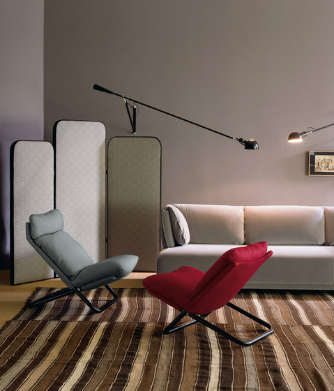 Cross low armchair by ARFLEX
