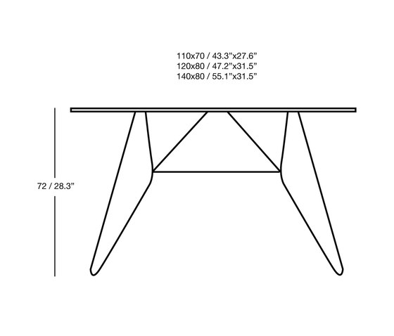 Cadaqués Table by iSimar