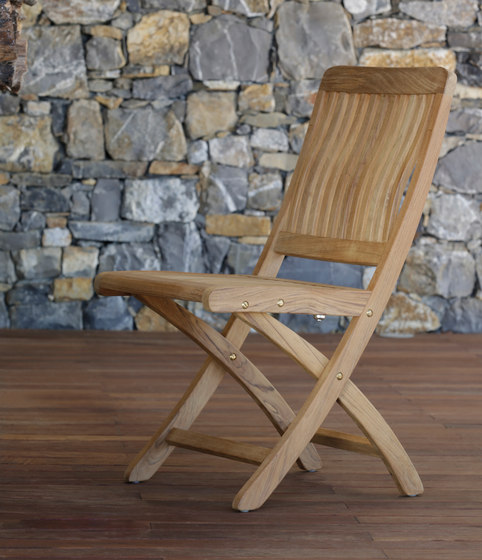 Del Rey DEL 60 Folding Recliner Chair by Royal Botania