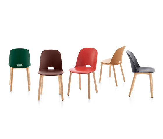 Alfi Counter stool low back di emeco
