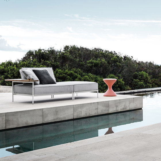 Tray Ottoman by Gloster Furniture GmbH