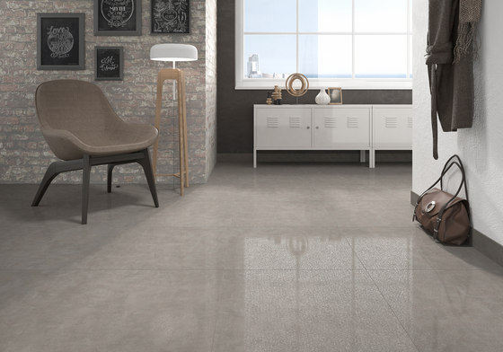 Living gris tiles from keraben architonic for Carrelage 75x75