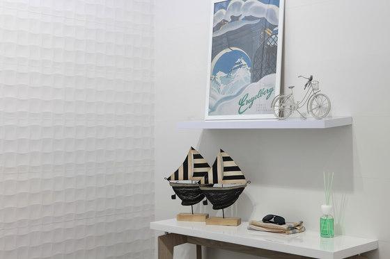 Millenium quilt blanco brillo de KERABEN