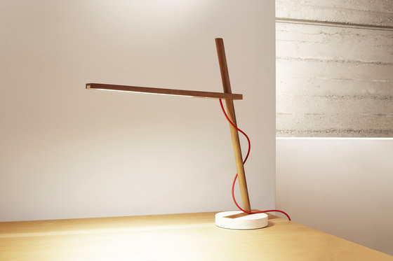 Clamp Table Freestanding di Pablo