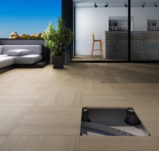 System L2 | Gray Flow L2 by Lea Ceramiche