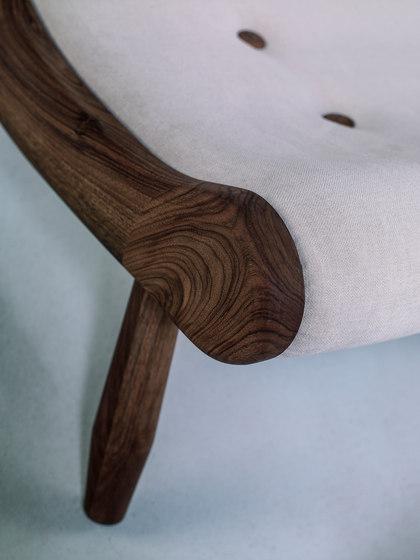 Eye Armchair & Ottoman de Hookl und Stool