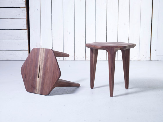 LayAir 02 Coffee Table von Hookl und Stool