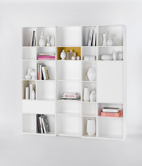 nex pur shelf shelves by piure architonic. Black Bedroom Furniture Sets. Home Design Ideas