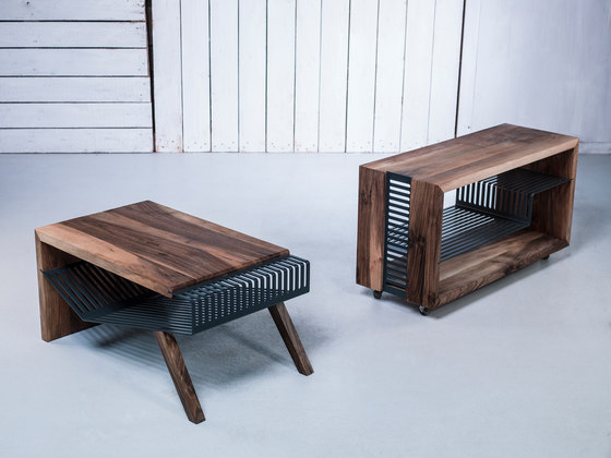 Polyline no2 Coffee Table de Hookl und Stool