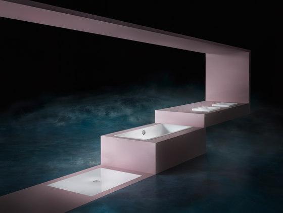 Silenio wall-hung washbasin alpine white by Kaldewei