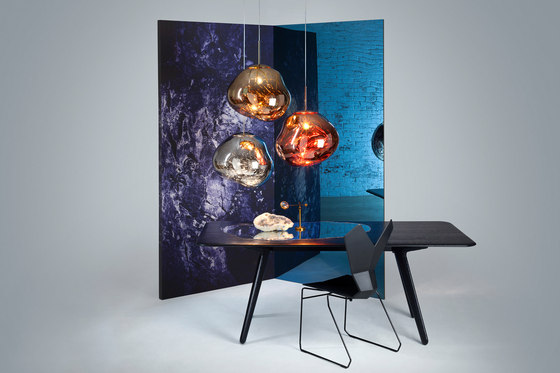 Melt Surface Light Chrome by Tom Dixon