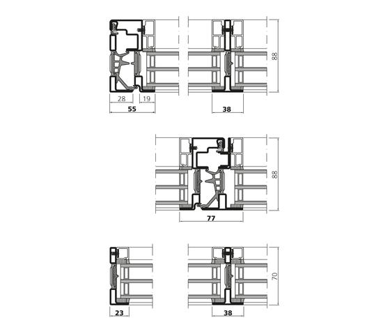 Forster unico XS | Turn/tilt windows de Forster Profile Systems