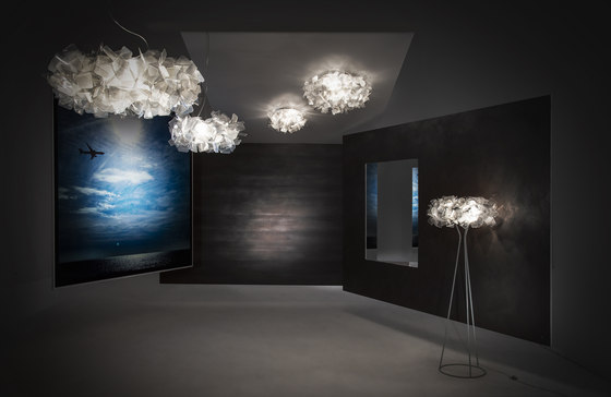Clizia Fumé suspension by Slamp