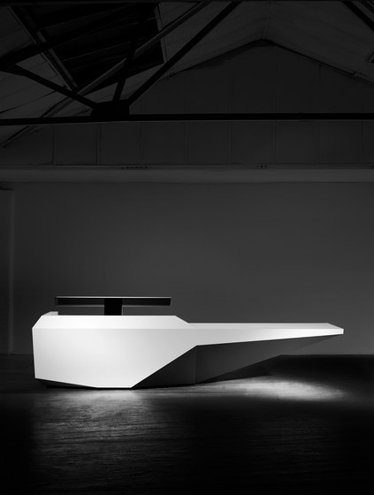 Fold Reception Desk Configuration 8 de Isomi