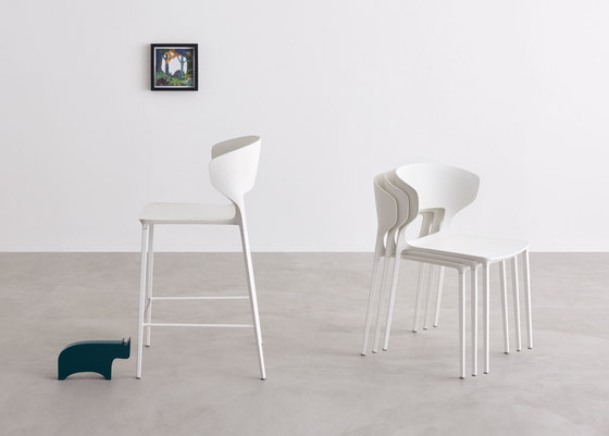 Koki barstool bar stools from desalto architonic for Sedia koki desalto