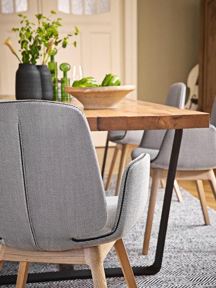Tilda | Armchair mit Kufengestell von Freifrau Sitzmöbelmanufaktur