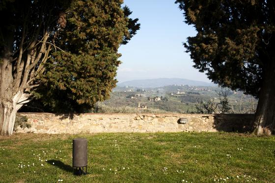 Cylinder Tall teak by Architettura Sonora
