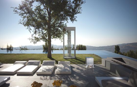Cubino concrete white by Architettura Sonora
